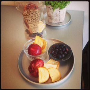 堀内果樹園さんのドライフルーツは、完熟の種無柿、すもも、ブルーベリーのミックスが入荷しました!