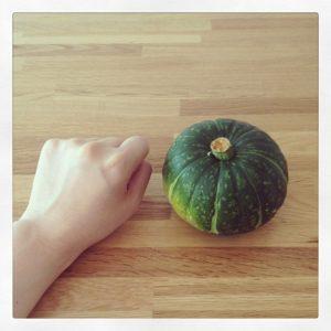 大分県からやってきた『鈴かぼちゃ』さん。
