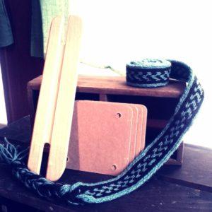 kram カード織り